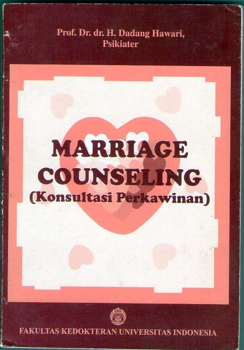 Marriage Counseling (Konsultasi Perkawinan)
